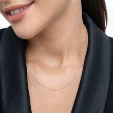 Halskette Pure Quintruple Diamant, 18K Gelbgold