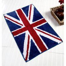 Homescapes Badematte Duschvorleger Badteppich Flagge United Kingdom 45 x 75 cm aus 100% reiner Baumwolle, waschbar bei 40 Grad, saugstark, rutschfest, pflegeleicht