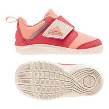adidas Unisex Baby Fortaplay AC Sneaker, Orange (Chacor/Reacor/Linen Chacor/Reacor/Linen), 26 EU