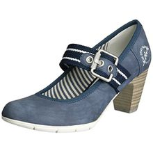 s.Oliver Damen 24404 Pumps, Blau (Navy 805), 38 EU