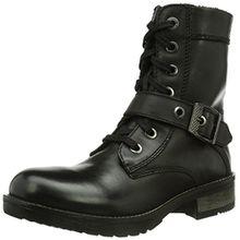 s.Oliver 25207, Damen Biker Boots, Schwarz (BLACK 1), 38 EU (5 Damen UK)