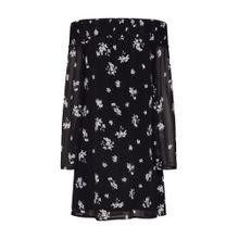 NA-KD Kleid schwarz / weiß