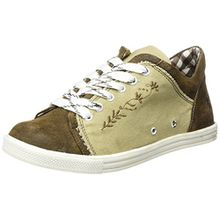 Spieth & Wensky Damen 460 D Janet-Sneaker, Braun (Natur/Braun/Braun/St 251 Braun 3444), 41 EU