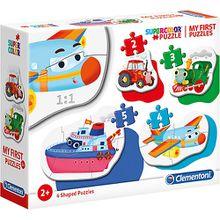 My frist Puzzles 2/3/4/5 Teile - Fahrzeuge