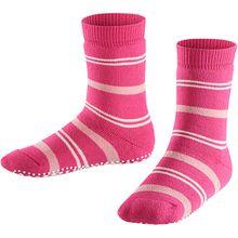 Haussocken Pencil Stripe , Catspads pink Mädchen Kinder