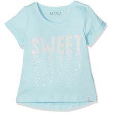 ESPRIT Mädchen T-Shirt, Grün (Jade 556), 92