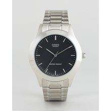 Casio - MTP1128A-1A - Silberne Armbanduhr aus Edelstahl - Silber