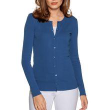 Benetton Strickjacke in blau für Damen