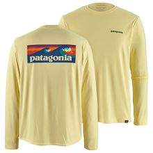 Patagonia - L/S Cap Cool Daily Graphic Shirt - Funktionsshirt Gr L;M;S;XL grau;blau