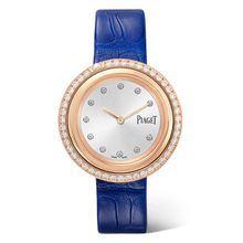 Piaget - Possession 34 Mm Uhr Aus 18 Karat Roségold Mit Diamanten Und Alligatorlederarmband - one size