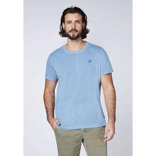 CHIEMSEE T-Shirt aus GOTS-zertifizierter Bio-Baumwolle blau Herren