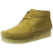 Clarks Originals Damen Weaver Boot. Chukka, Braun (Ochre Suede), 40 EU