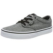 Vans Unisex-Kinder Atwood Sneaker, Grau (Rock Textile), 34.5 EU