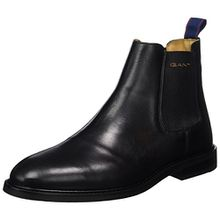 GANT Footwear Herren Ricardo Chelsea Boots, Schwarz (Black), 44 EU