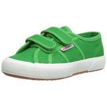 Superga 2750- JVEL CLASSIC S0003E0, Unisex - Kinder Sneaker, Grün - Island Green - 31 EU (12.5 UK)