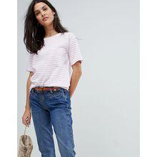 Mih Jeans - Hochgeschlossenes, gestreiftes Oberteil - Mehrfarbig