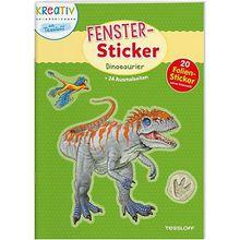 Buch - Fenster-Sticker: Dinosaurier