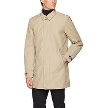 Geox Herren Mantel Man Jacket, Beige (Cobblestone Beige F5079), Large (Herstellergröße: 52)