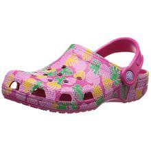 CROCS Kinderschuhe - CLASSIC Tropical Clog - candy pink, Größe:27-29