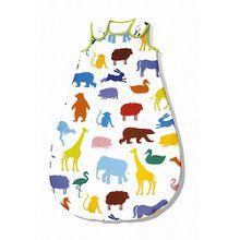Schlafsack Happy Zoo, sieger design mehrfarbig