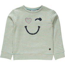 SALT AND PEPPER Sweatshirt hellblau / pastellgrün