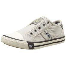 Mustang 5803-405-203, Unisex-Kinder Slip On Sneaker, Elfenbein (203 ice), 33 EU (1 UK)