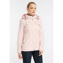 Dreimaster Sportlicher Damen Anorak aus Peached-Cotton rosa Damen