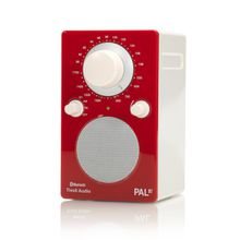 Tivoli Audio - PAL BT, rot / weiß