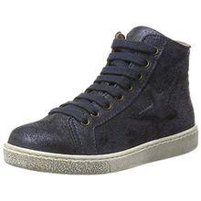 Bisgaard Unisex-Kinder Schnürschuhe Hohe Sneaker, Blau (611 Blue), 34 EU
