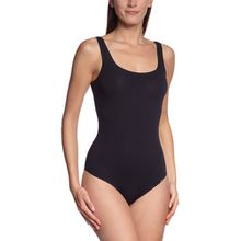 Skiny Damen Bodys Body Collection Body ohne Arm, Gr. 42, Schwarz (7662 BLACK)