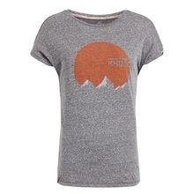 khujo T-Shirt IFAMA SUNRISE T-Shirts grau Damen