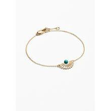 Sun Fan Bracelet - Turquoise