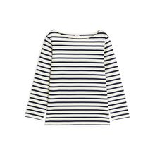 Striped Cotton Top - Blue