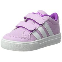 adidas Unisex-Kinder Vs Set CMF Inf Sneakers, Violett (Lgtorc/Ftwwht/Shopur), 23 EU