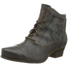 Mustang Damen 1187-509-20 Combat Boots, Grau (20 Dunkelgrau), 38 EU