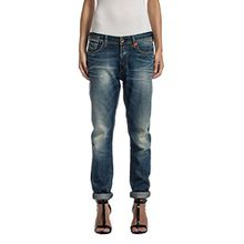Replay Damen Boyfriend Jeans Leena, Gr. W25, Blau (Blue Denim 9)