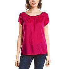 Street One Damen Bluse Felia, Rosa (Carribean Pink 11293), 40
