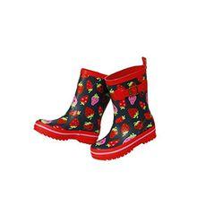 Maximo Kinder-Gummistiefel Erdbeer-Stiefel Erdbeere, Größe:31