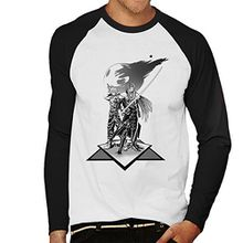 Final Fantasy Soldier Men's Baseball Long Sleeved T-Shirt