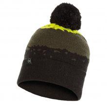 Buff - Tove Knitted Hat - Mütze Gr One Size schwarz;blau/schwarz