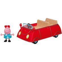 PEPPA - Peppas rotes Auto mit 1 Spielfigur