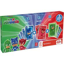 PJ Masks - 3 in 1 Spielebox