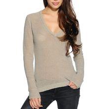 Milano Pullover in beige für Damen