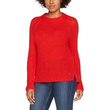 BRAX Damen Pullover BX_LEA, Rot (Vibrant Red 47), 44