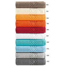 """Badvorleger, Badematte, Badteppich """"Denver""""- Aus 100% Baumwolle, in 10 Farben und 3 Größen, Größe Badvorleger, 60x110 Cm, Farbe sea 330"""