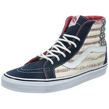 Vans U Sk8-hi Reissue Americana, Unisex-Erwachsene Sneakers, Mehrfarbig (Americana/Dress Blues), 42.5 EU