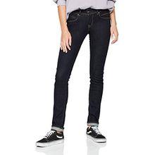 Pepe Jeans Damen Slim Jeans New Brooke, Blau (Denim M15), W29/L30 (Herstellergröße: 29)