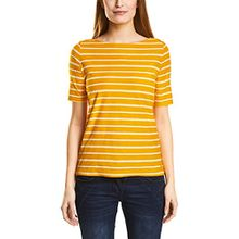 Cecil Damen T-Shirt 311867, Gelb (Golden Lemonade 21197), Medium