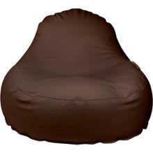 Outdoor-Sitzsack Slope XL, Skin, chestnut braun