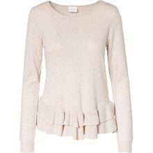 VILA Pullover beige Damen